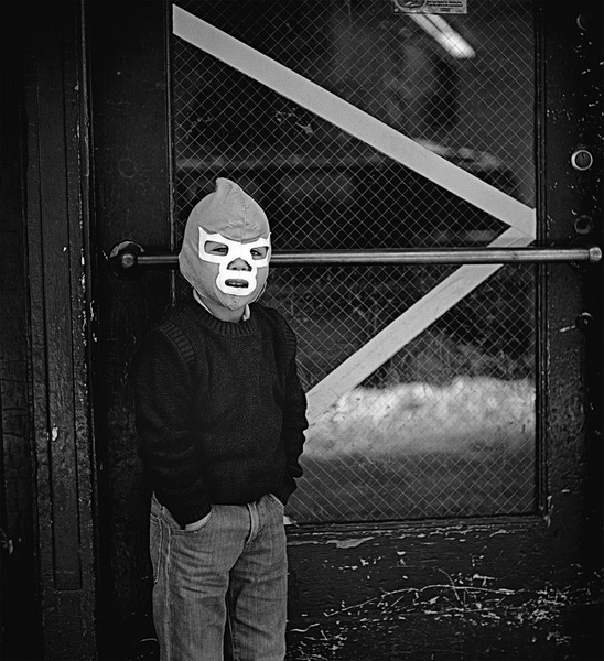 Boy in a Mask